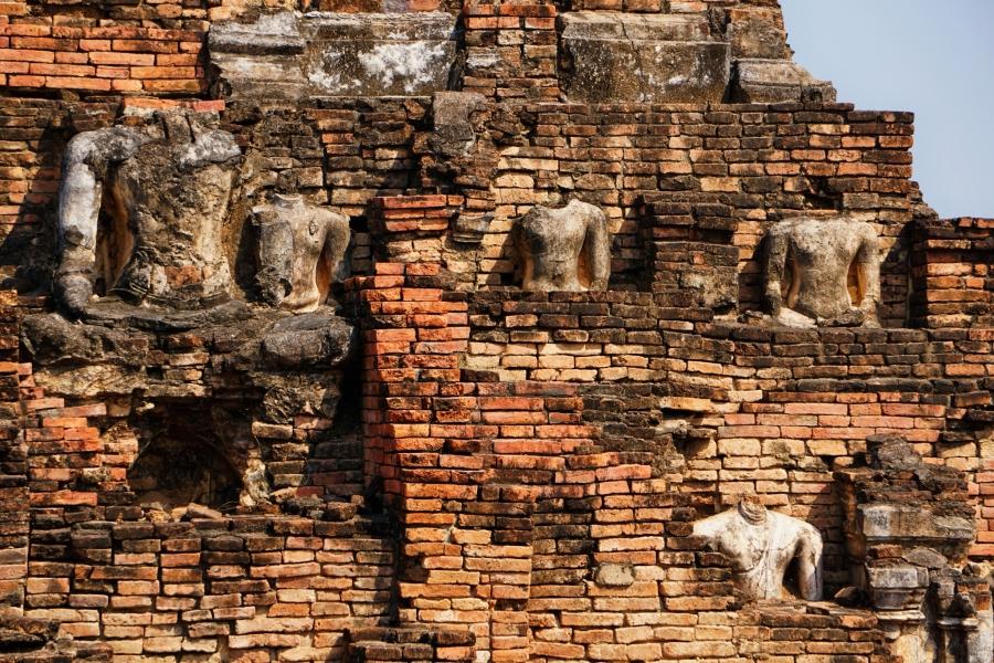 Wat Phra Phai Luang, Sukhothai, Thailand, Buddhism, ruins, history, Southeast Asia, temples