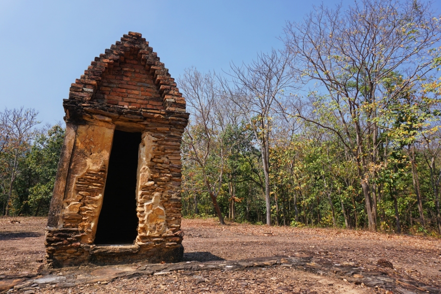 Sukhothai, Thailand, outhouse, ruins, Southeast Asia