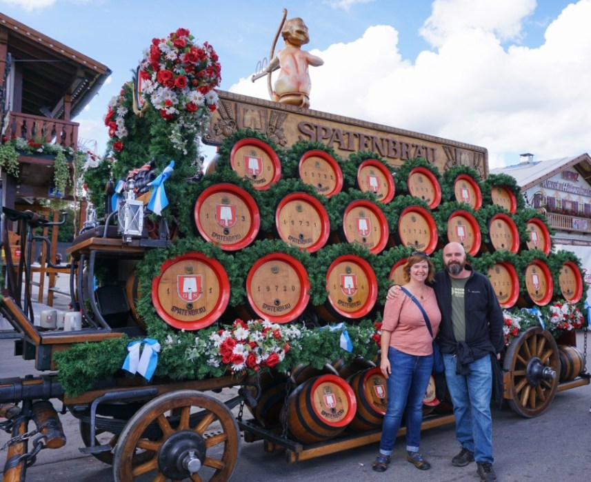 Oktoberfest 2017, Munich - parades, costumes, pretzels, beer galore.