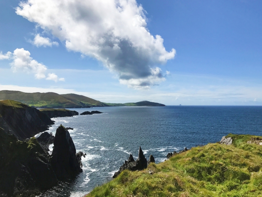 Hiking on the Beara Peninsula, Ireland.