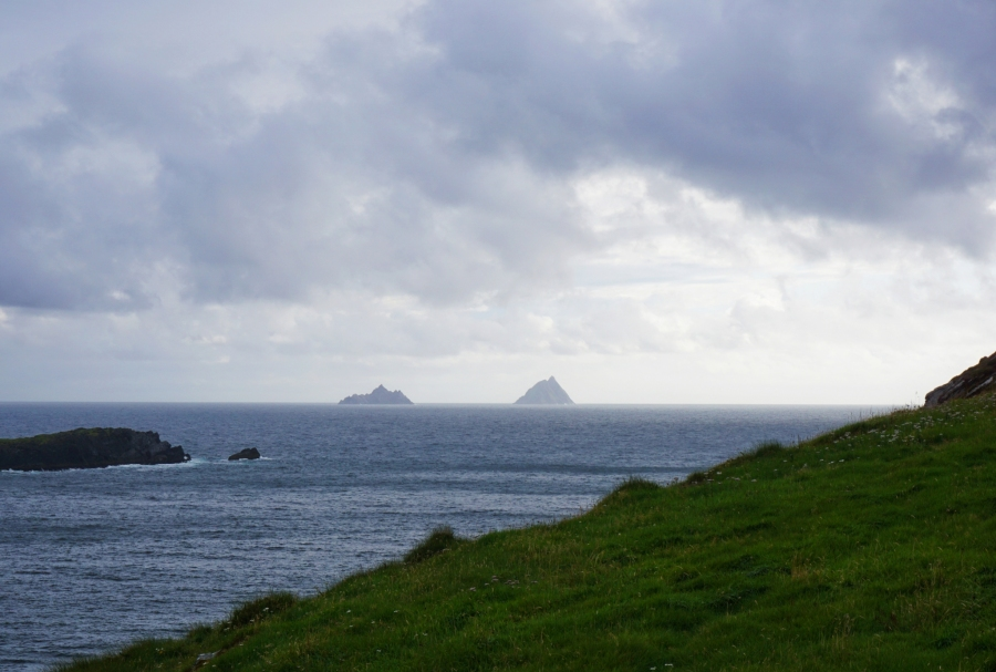 Views of the Skellig Islands, known for an abandoned monastery and the filming of a new Star Wars movie.
