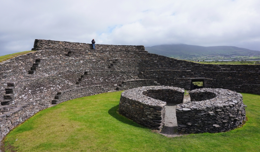 This ring fort was a delight to climb and check out view of some fo the southern part of the Ring of Kerry.