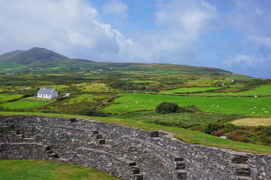Cahergal Ring Fort, County Kerry, Ireland