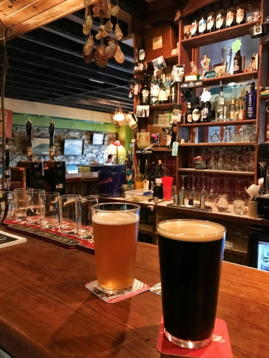 West Kerry Brewery on the Dingle peninsula is a great spot for some local beers after sightseeing all day.