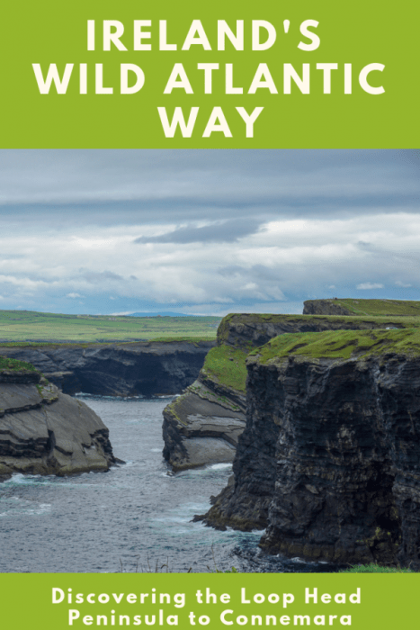 Everyone heads right to the Cliffs of Moher, but the Loop Head Peninsula is full of breathtaking cliffside views and is a bit off the beaten path. Discover the best places to stop on the Wild Atlantic Way starting at the Loop Head Drive and ending up in Connemara.