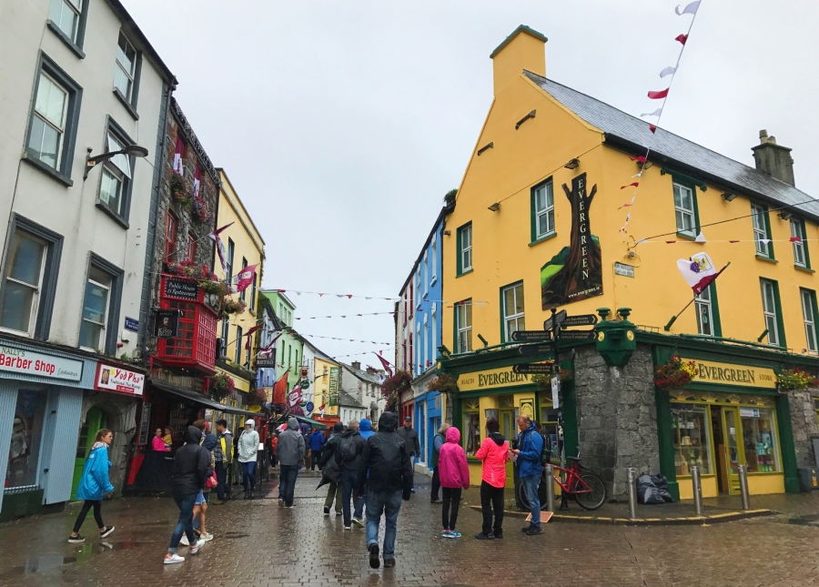 Galway, Ireland has great Norman history and an informative walking tour.