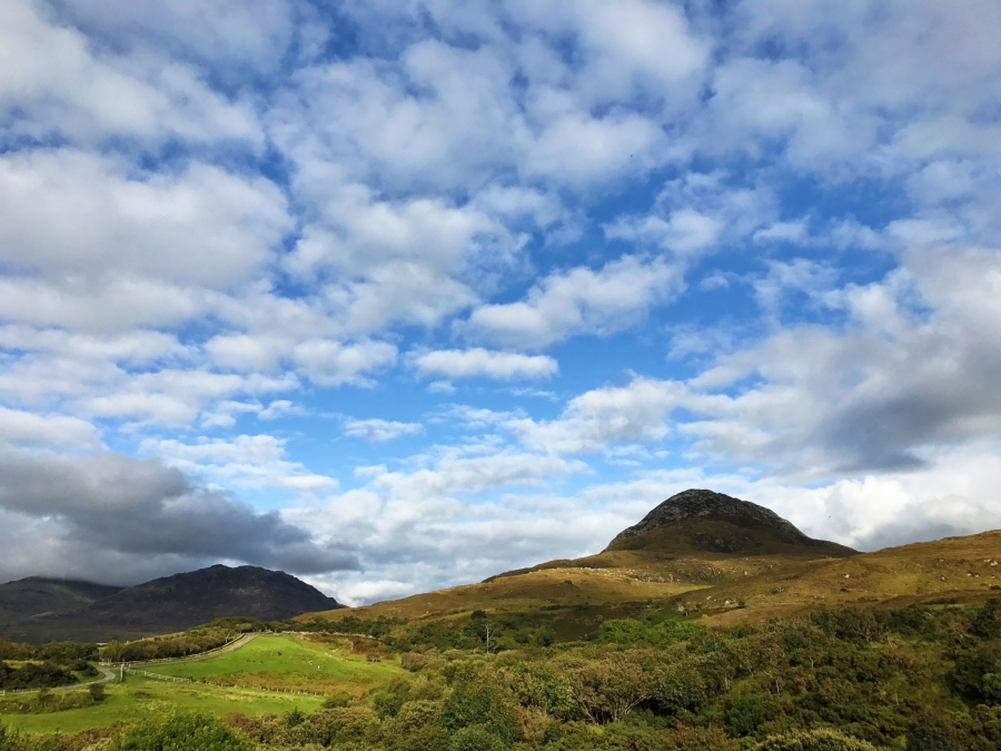 Connemara National Park has some great hikes and beautiful views.