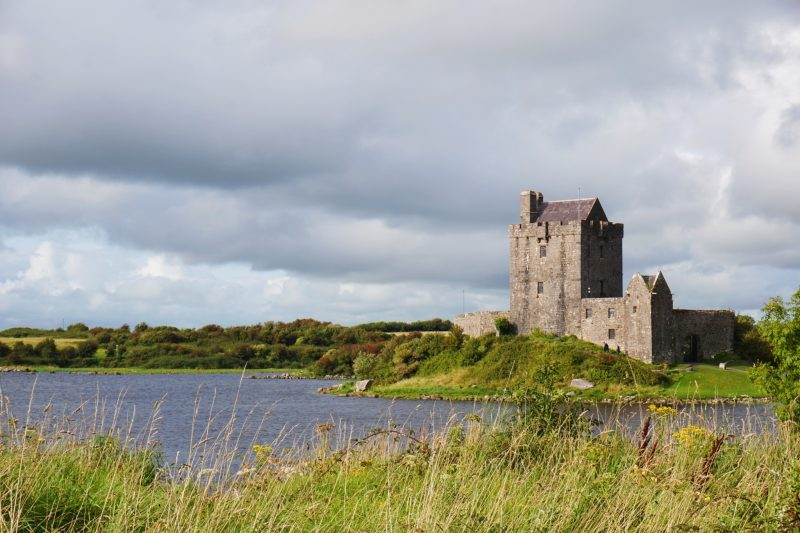 Dungaire Castle near Kinvara, Ireland holds medieval banquets each night.