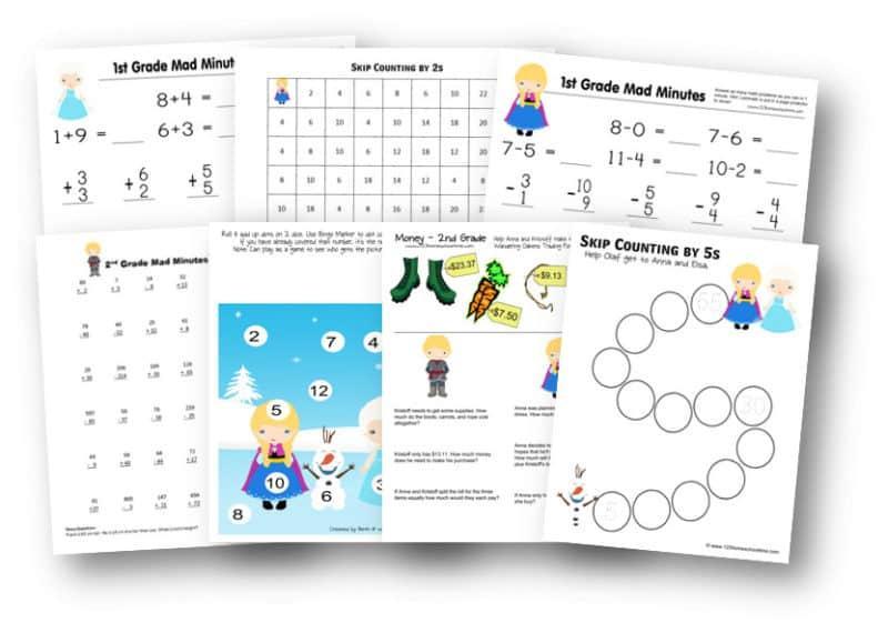 Free 1st Grade Math Worksheets Printable – Benderos Printable Math