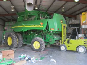 Our attempt to make minor updates to our combine turned into a $4,000 project.
