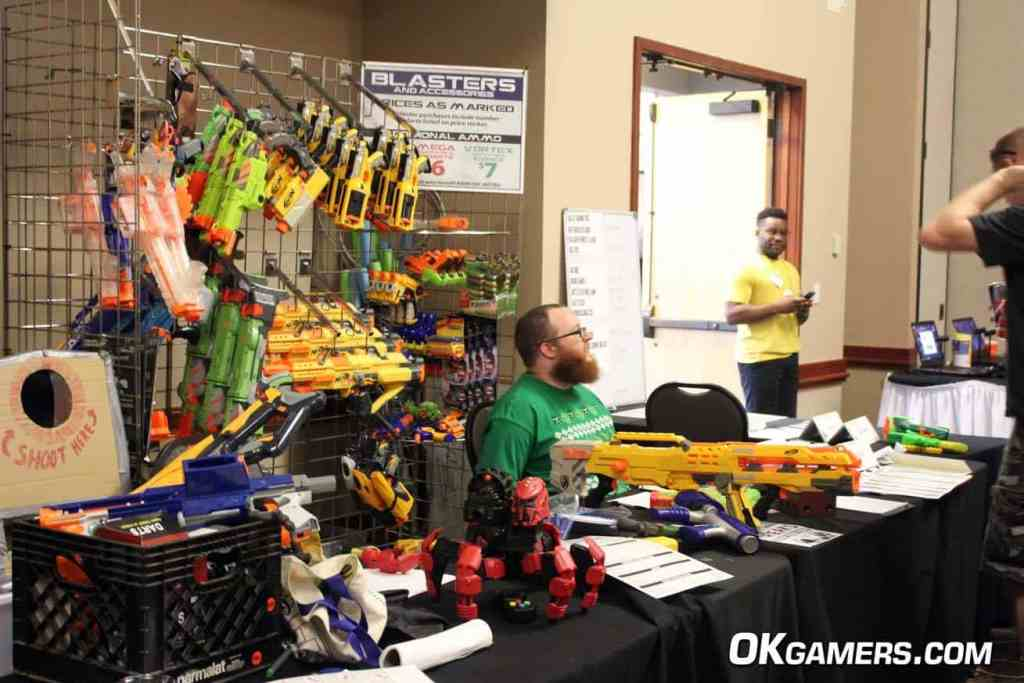 Nerf Wars at SoonerCon