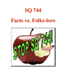 Oklahoma Say NO! to SQ 744 Capitol Rally Friday May 7th noon
