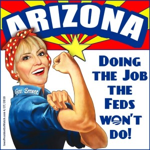 WHO Cares What The UN Thinks? Not AZ Governor Brewer