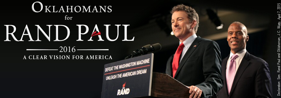 Sooner Politics Announces Rand Paul Commits to OKGOP Fundraiser Event