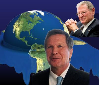 Inhofe Endorses 'Climate Change' Kasich