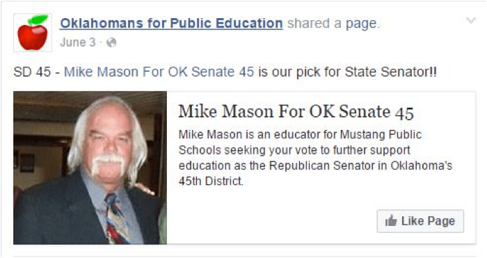 10Mike Mason for OKSenate45