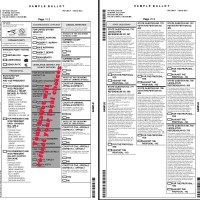 Election Board Releases Sample Ballot