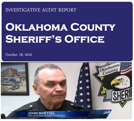 America's Deadliest Jail (OKC) Get's Stinging Audit Report