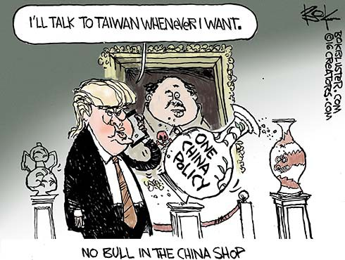 Trumped up One China Policy