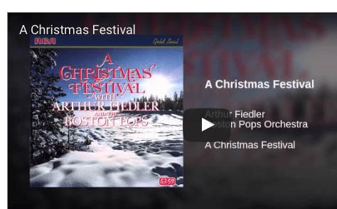 Music Monday: A Christmas Festival