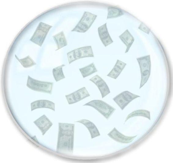 money-bubble