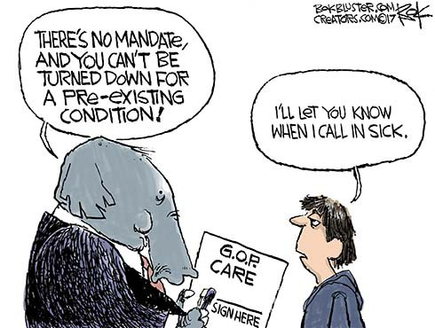 Republicans' Pre-Existing Condition