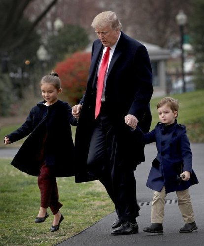 Sunday Skipping With Grandpa Trump
