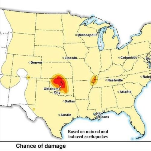 USGS: Oklahoma Has Significant Potential For Damaging Earthquakes In 2017