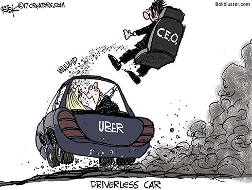 Uber Founder Ejected