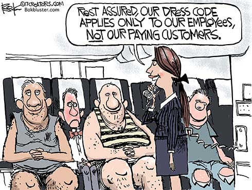 airline dress code