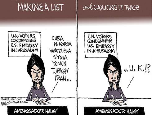 haley's list