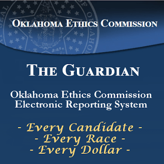Oklahoma Ethics Commission Reports via Muskogee Politico:  Pre-Runoff Finance Reports