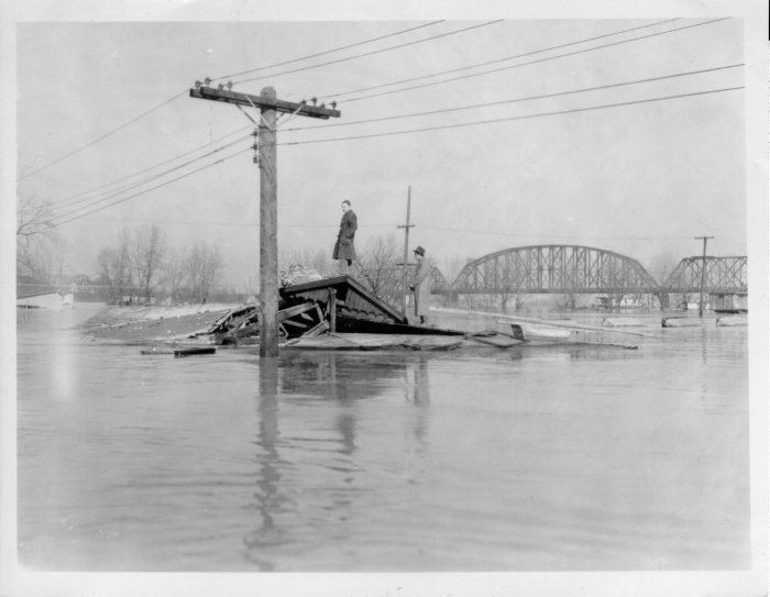 flood waters roof