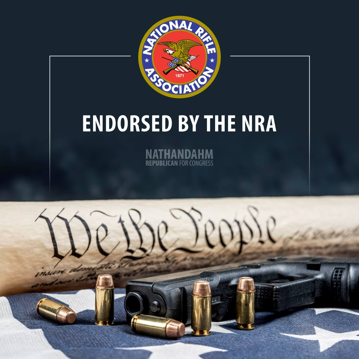NRA Endorsement goes to Nathan Dahm!