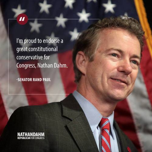 Rand Paul endorses Nathan Dahm for Congress