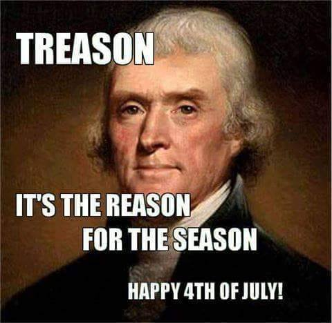 Tulsa 912 Project:  Treason -- Happy 4th of July!