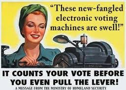Oklahoma Watchman:  Our Secure Voting Machines?