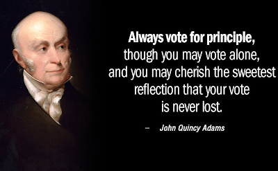 Election Day: Vote for Principle