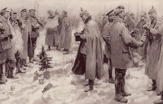 R3publicans:  The Great War Christmas Truce: 'They Were Positively Human'