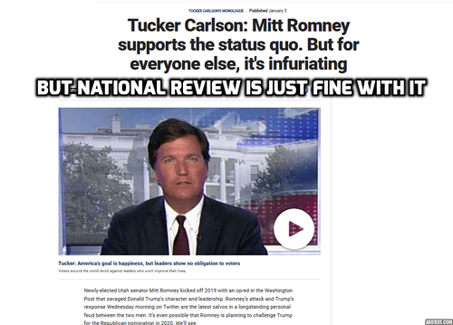 R3publicans:  Tucker Carlson Routs Conservatism Inc. On Unrestrained Capitalism—and Immigration