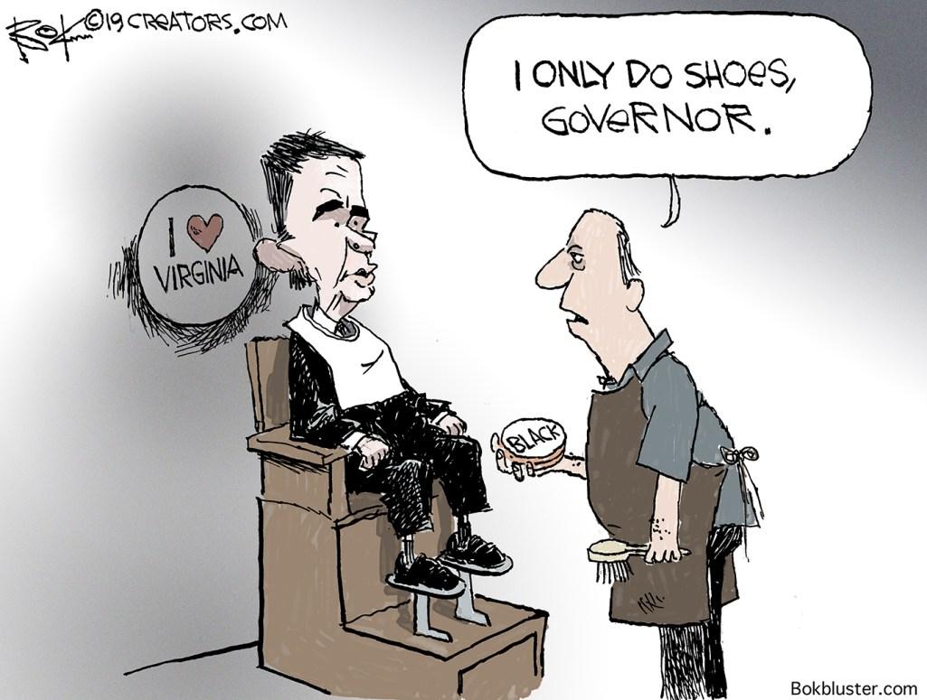 black face, Virginia Governor Northam