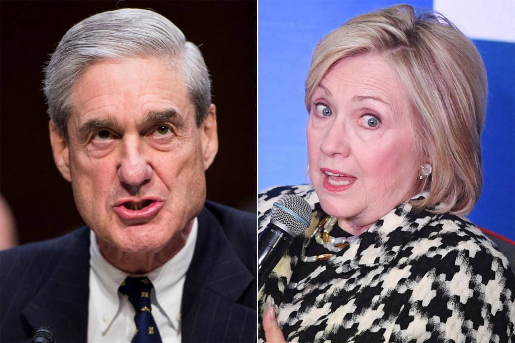 Robert Mueller and Hillary Clinton
