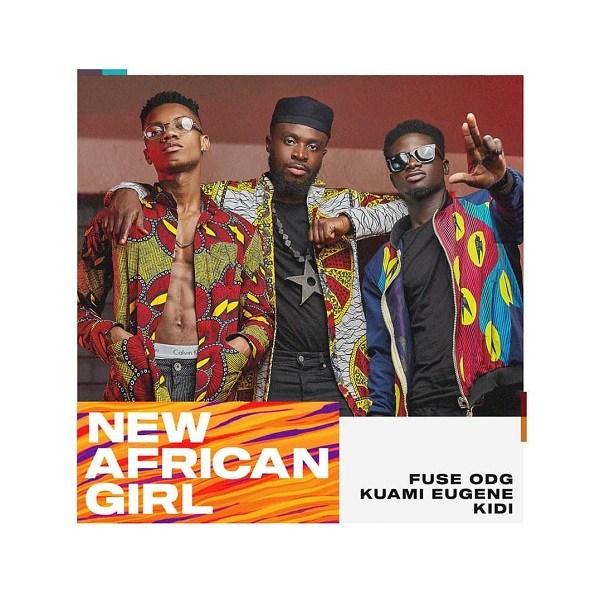 Fuse ODG ft. Kuami Eugene & KiDi – New African Girl