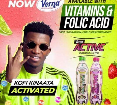 Kofi Kinaata – Verna Active