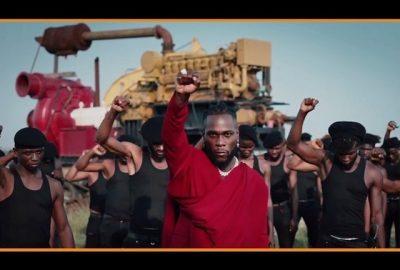 [Video] Burna Boy ft. Chris Martin – Monsters You Made