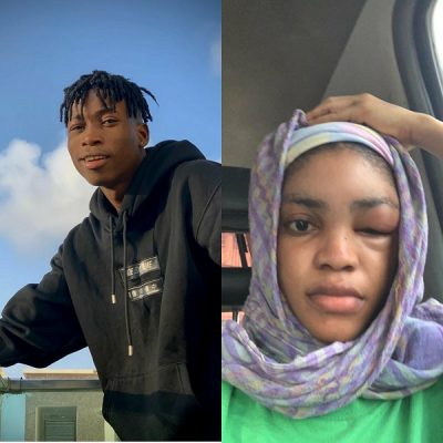 DMW act, Lil Frosh accused of physically abusing girlfriend