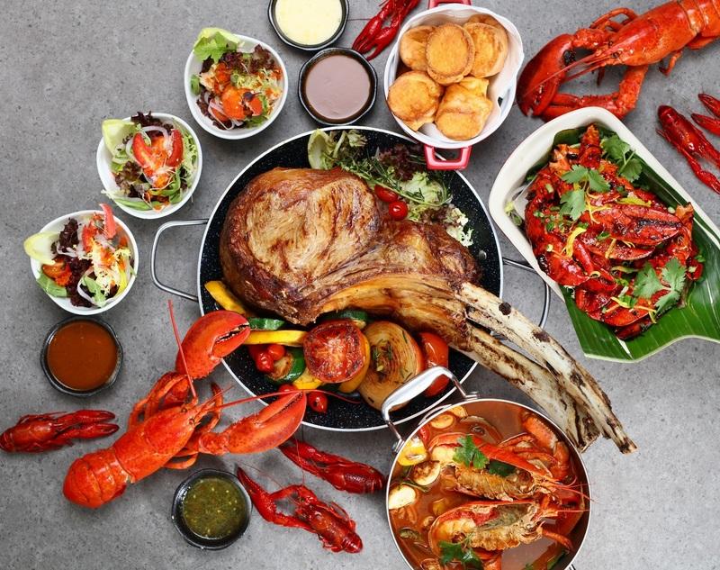 龍蝦‧斧頭扒自助晚餐及甜蜜盛「燕」‧馬卡龍下午茶自助餐 / Lobster & Tomahawk Dinner Buffet and Bird's Nest & Macaron ...