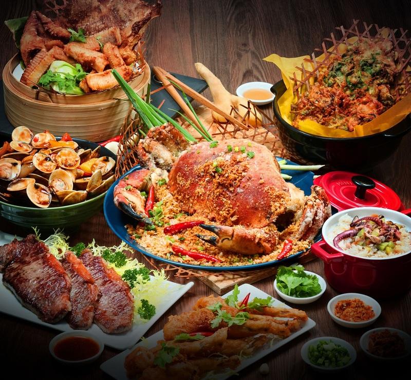 避風塘海鮮自助晚餐 / Nostalgic Hong Kong Seafood Dinner Buffet @ Cafe Marco – Marco Polo Hongkong Hotel - OKiBook Hong Kong & Macau ...