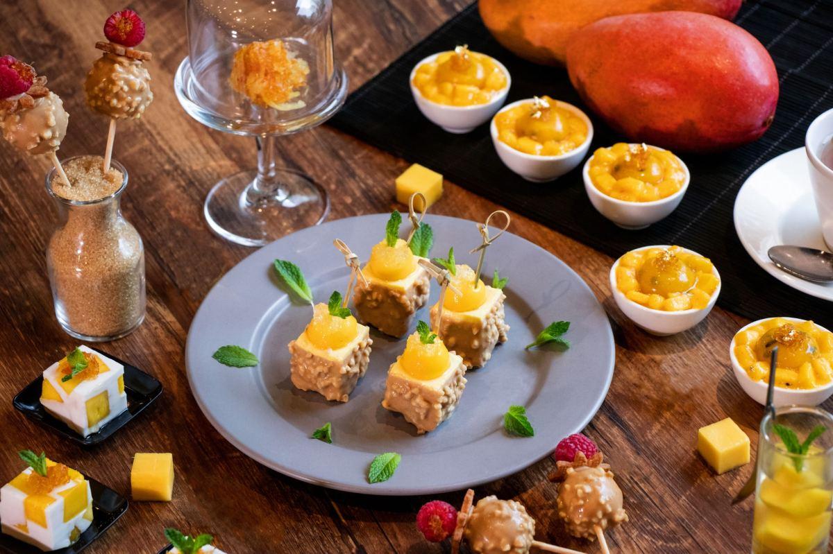 皇室紅鑽芒燕窩甜品下午茶 / Royal Ruby Mango and Bird's Nest Afternoon-tea @ The Market – Hotel ICON ...