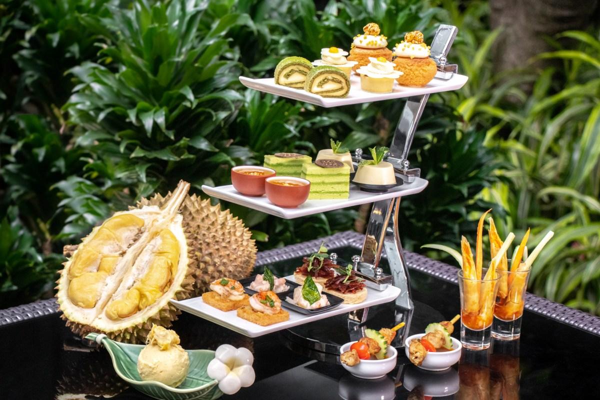 "「飄香榴槤下午茶」 / ""All About Durian"" Afternoon Tea @ GREEN – Hotel ICON - OKiBook Hong Kong & Macau - 餐廳季度優惠 ..."